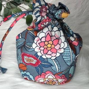 Vera Bradley Ditty Bag Tropical Evening NWT